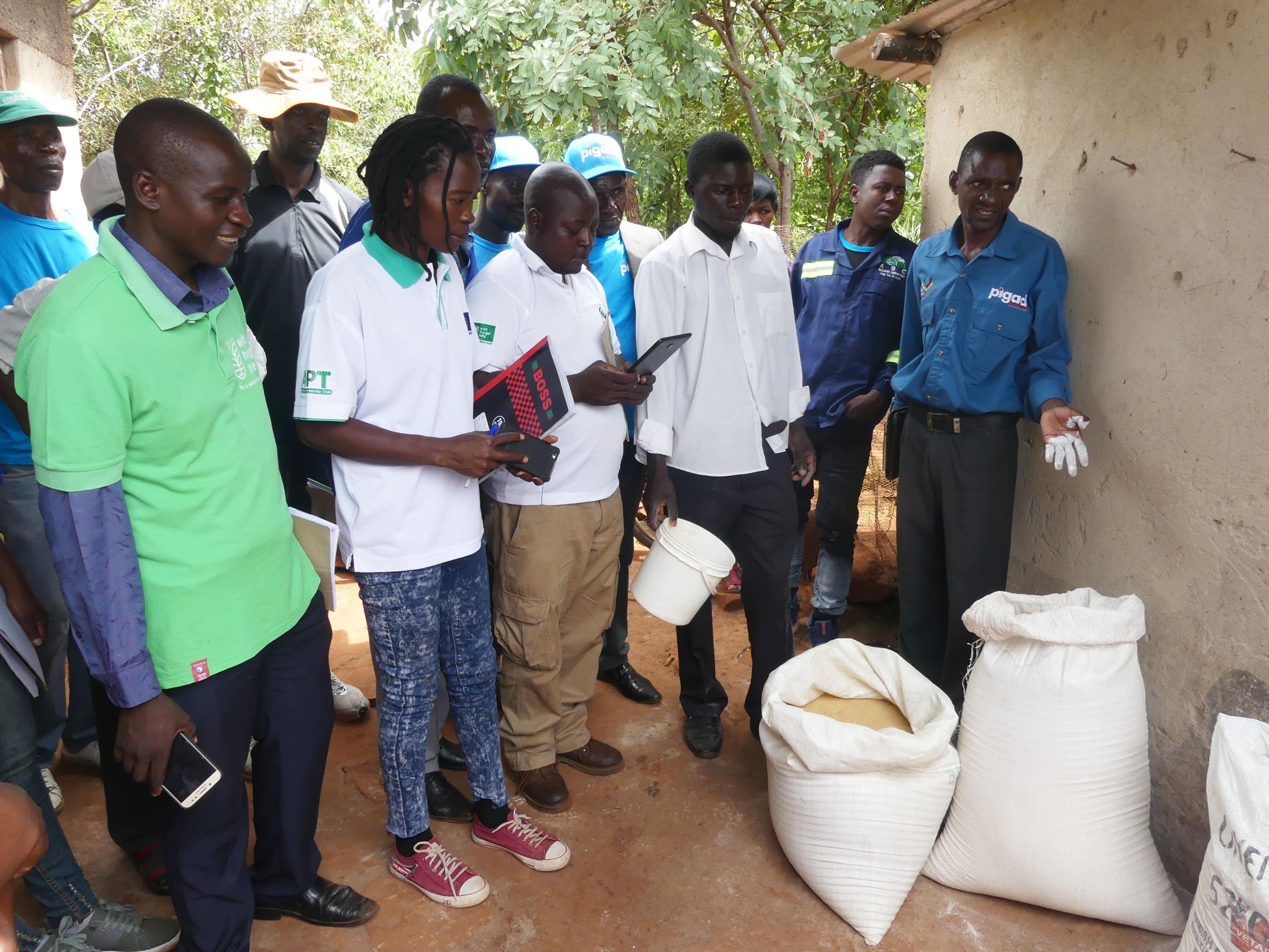 Gokwe smallholder poultry farmers visit Goromonzi